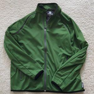 Men's Sunice Green Zip Up Jacket